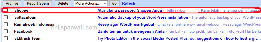 tutorial cara mengatasi lupa dan ganti password di shopee