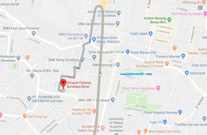 Alamat Kantor Agen SiCepat Surabaya Dan Nomor Telepon Call Center